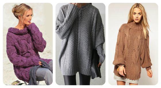9ff0973893e Stylový pletený svetr. Bunda velká pletení  fotografie a popis práce ...