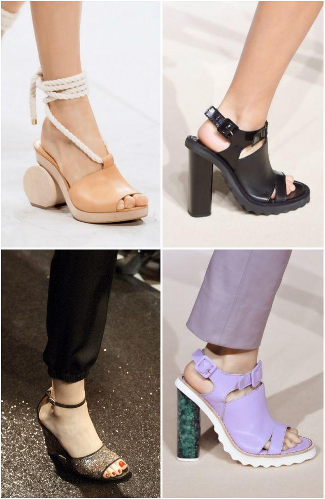 V návrhářských sandálech z hitů jaro-léto roku 2016 bylo neuvěřitelně mnoho  šněrování 57e0cbaf1c