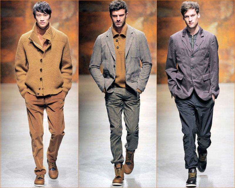 Mohou být vyrobeny z kašmíru nebo neopracované bavlněné a ramenní podložky  - takové modely se nazývají
