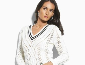 модные вязаные свитера с описанием и схемой